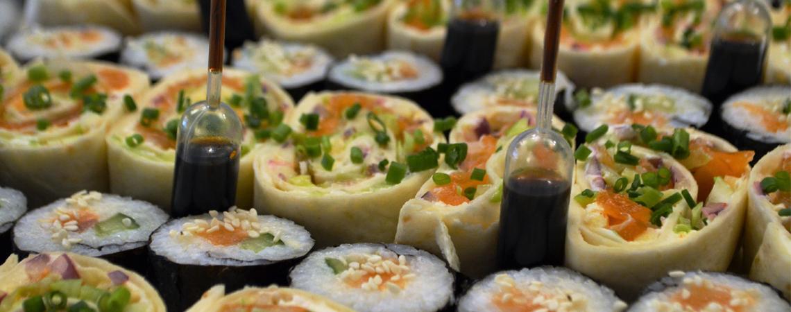 Sashimis aux saumons